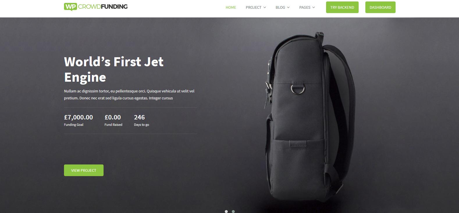 Демо-версия сайта с темой Travelkit