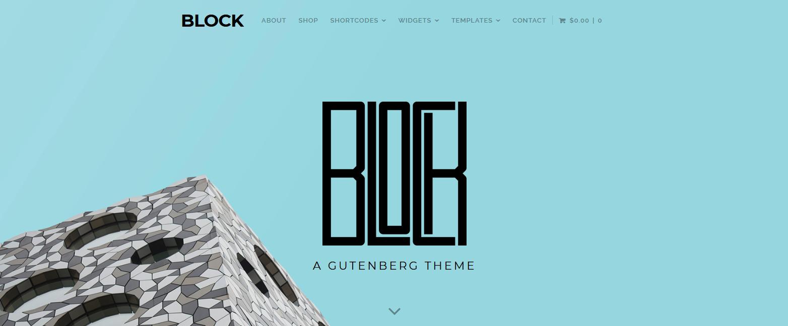Демо-сайт с темой Block Theme