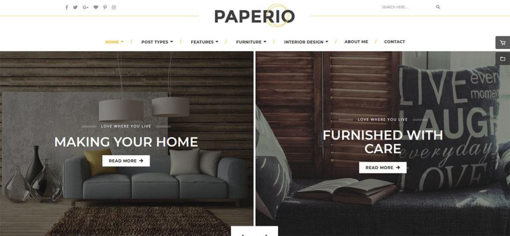 WordPress-шаблон Paperio
