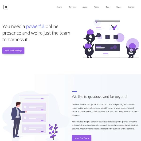 Демо-сайт с WordPress-темой GeneratePress